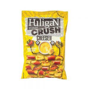 Σνακ Αλμυρό Πρέτζελ Huligan Pretzel Crush Cheese Sauce Pretzel Pieces 65g