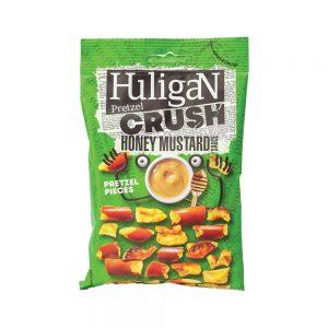 Σνακ Αλμυρό Πρέτζελ Huligan Pretzel Crush Honey Mustard Sauce Pretzel Pieces 65g