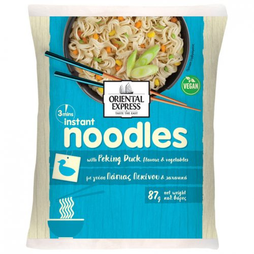 Oriental Express Noodles With Peking Duck Flavour And Vegetables 87g