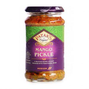 Πίκλες Μάνγκο Μέτριες Χωρίς Γλουτένη Pataks Mango Pickle Mild 283g