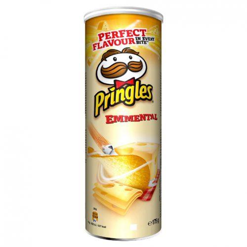 Πατατάκια Με Γεύση Τυριού Έμενταλ Pringles Emmental 175g