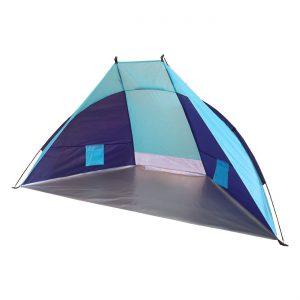 Σκίαστρο Σκηνή Παραλίας  Μπλε Pop Up Beach Tent Blue 220x115x115cm