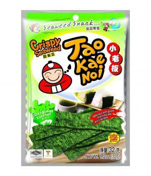 Σνακ Φύκια Τραγανά Με Φυσική Γεύση Tao Kae Noi Original Flavour Crispy Seaweed 32g