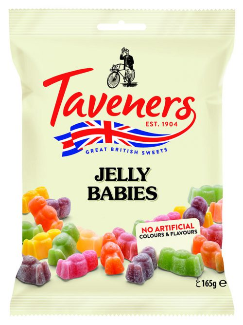 Καραμέλες Ζελεδάκια Taveners Jelly Babies 165g