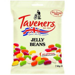 Καραμέλες Ζελεδάκια Taveners Jelly Beans 165g