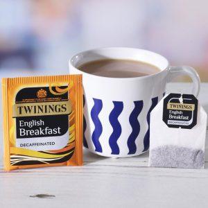 Τσάι Μαύρο Χωρίς Καφεΐνη Twinings English Breakfast Decaffeinated 50 Tea Bags