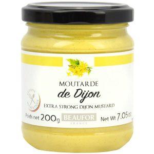 Μουστάρδα Ντιζόν Beaufor Extra Strong Dijon Mustard 200g