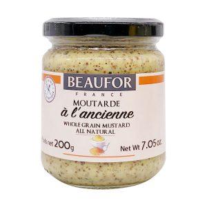 Μουστάρδα Beaufor Ancienne Wholegrain Mustard 200g