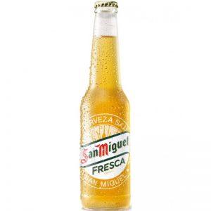 Μπύρα Ξανθιά San Miguel Fresca lager Beer 330ml