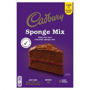 Μείγμα για Κέικ Σοκολάτας Cadbury Sponge Mix 400g