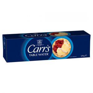 Κράκερ Carrs Original Table Water Biscuits 125g