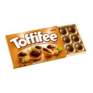 Σοκολατάκια με Ολόκληρο Φουντούκι και Καραμέλα Storck Toffifee 125g