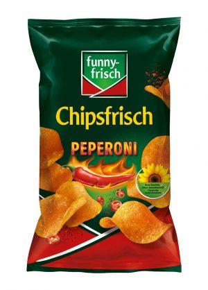 Πατατάκια Πικάντικα Funny Frisch Chipsfrisch Peperoni 175g