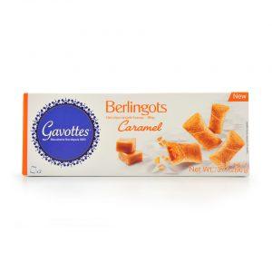 Μίνι Γεμιστά Μπισκότα Κρέπες Gavottes Berlingots Caramel 90g