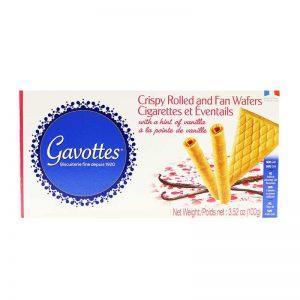 Γκοφρέτες Συλλογή Gavottes Cigarette et Eventail Dentelle Butter Wafers 100g