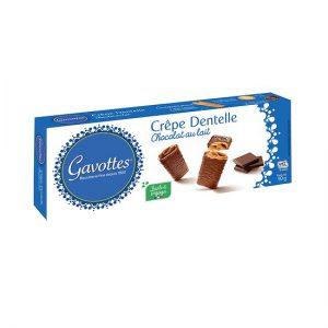 Μπισκότο Κρέπα με Σοκολάτα Γάλακτος Gavottes Crepe Dentelle Chocolat au Lait 90g