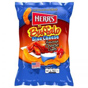 Γαριδάκια Πικάντικα Herrs Buffalo Blue Cheese Curls 198.5g