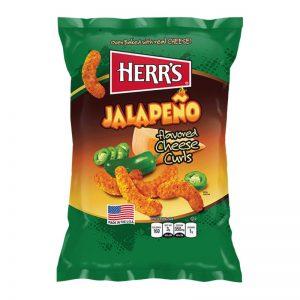 Γαριδάκια Πικάντικα Herrs Jalapeno Cheese Curls 198.5g