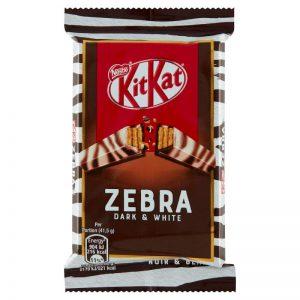 Γκοφρέτα Kit Kat Zebra Dark And White Nestle 41,5g
