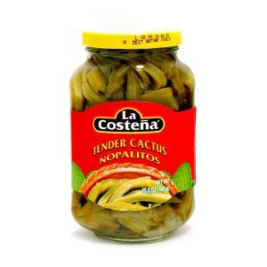 Σάλτσα Πιπεριές Χαμπανέρο La Costena Habanero Cactus Nopalitos 440g