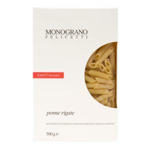 Ζυμαρικά Βιολογικά Monograno Felicetti Penne Rigate Kamut Organic 500g