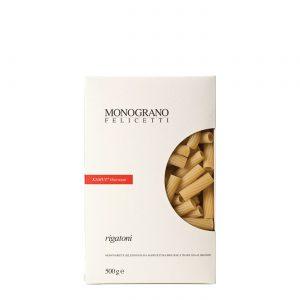 Ζυμαρικά Βιολογικά Monograno Felicetti Rigatoni Kamut Organic 500g