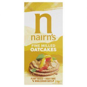 Κράκερ Βρώμης Nairns Vegan Fine Milled Oatcakes 218g