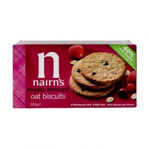 Μπισκότα Βρώμης Nairns Mixed Berries Oat Biscuits 200g
