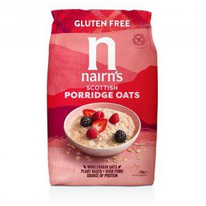 Νιφάδες Βρώμης Ολικής Άλεσης Vegan Nairns Scottish Porridge Oats 450g