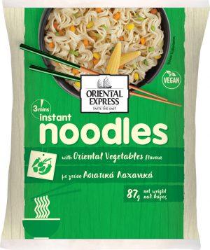 Νούντλς με Ασιατικά Λαχανικά Vegetarian Oriental Express Oriental Vegetable Noodles 87g