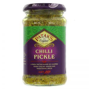 Πίκλες Καυτερές Χωρίς Γλουτένη Pataks Chilli Pickle 283g