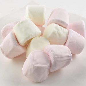 Ζαχαρωτά Λευκά και Ροζ Princess Marshmallows Mallows 200g
