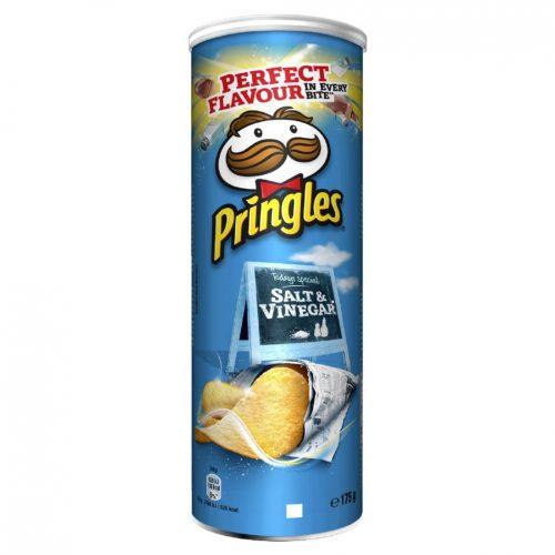 Pringles Salt And Vinegar 175g