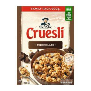 Μούσλι Βρώμης με Σοκολάτα Quaker Cruesli Chocolate Family Pack 900g