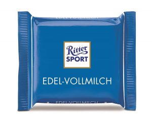 Σοκολάτα Ritter Sport Mini Edel Vollmilch Chocolate 16.67g