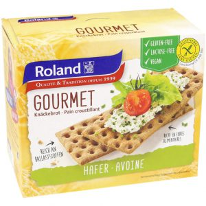 Φρυγανιές Βρώμης Roland Gourmet Gluten Free Lactose Free Vegan 230g