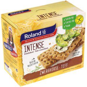 Φρυγανιές Τεφ Roland Intense Gluten Free Lactose Free Vegan 200g