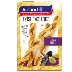 Κρουασίνια Βουτύρου με Ελιές Roland Twist Excellence Olives 100g