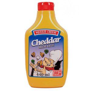 Σάλτσα Τυριού Squeeze Cheese Cheddar Cheese Sauce 440ml