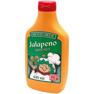 Σάλτσα Τυριού Πικάντικη Squeeze Cheese Jalapeno Cheese Sauce 440ml