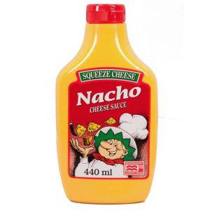 Σάλτσα Τυριού Squeeze Cheese Nacho Cheese Sauce 440ml