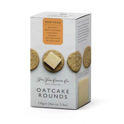 Μπισκότα Βρώμης The Fine Cheese Co. Heritage Oatcake Rounds 150g