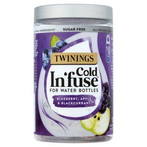 Κρύο Αφέψημα Twinings Cold Infuse Blueberry Apple Blackcurrant For Water Bottles 12 Infusers
