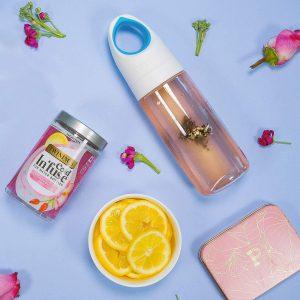 Κρύο Αφέψημα Twinings Cold Infuse Rose Lemonade For Water Bottles 12 Infusers