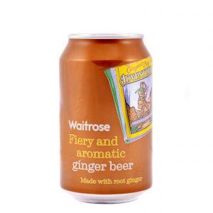 Μπύρα Τζίντζερ Waitrose Fiery and Aromatic Ginger Beer 330ml
