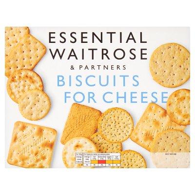 Κράκερ Waitrose Biscuits for Cheese Vegetarian 300g