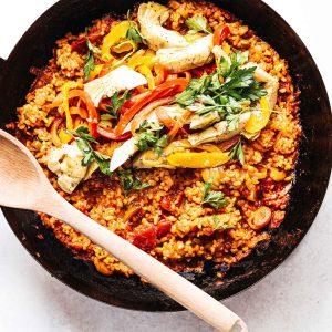 Ρύζι για Παέγια Waitrose Bomba Paella Rice 500g