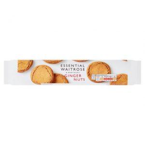 Μπισκότα Waitrose Ginger Nuts 300g