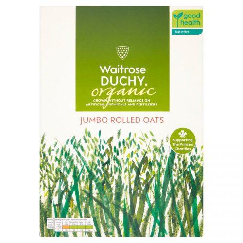 Νιφάδες Βρώμης Waitrose Dutchy Organic Jumbo Rolled Oats 1kg