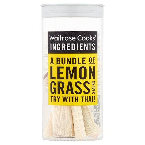 Λεμονόχορτο Αποξηραμένο Waitrose Cooks Ingridients Lemongrass Stalks 3g